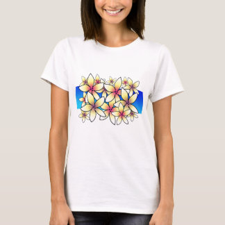 T-shirt da boneca do Plumeria Camiseta