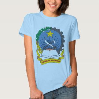 T-shirt da brasão de Angola