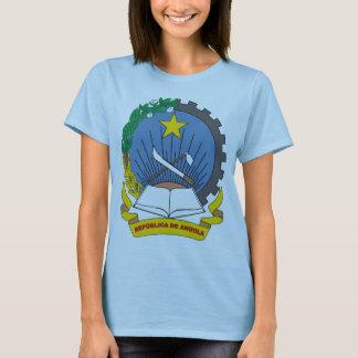 T-shirt da brasão de Angola Camiseta