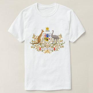 T-shirt da brasão de Austrália Camiseta