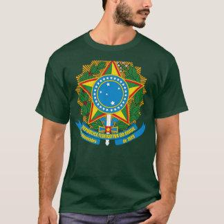 T-shirt da brasão de Brasil Camiseta
