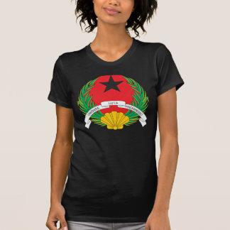 T-shirt da brasão de Guiné-Bissau