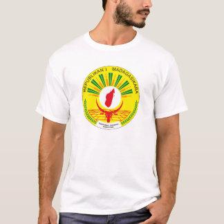 T-shirt da brasão de Madagascar