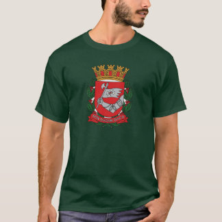 T-shirt da brasão de Sao Paulo Camiseta