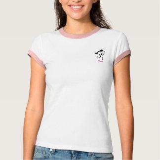 T-shirt da campainha da menina do corredor
