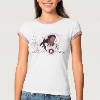 T-shirt da campainha das senhoras do Mayor