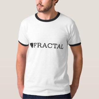 T-shirt da campainha do FRACTAL de B&W Camiseta