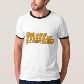 T-shirt da campainha do hóquei de Philly Camiseta