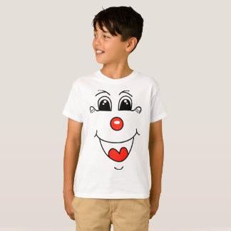 T-shirt da cara do palhaço camiseta