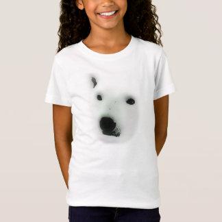 T-shirt da cara do urso polar camiseta