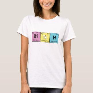 """T-shirt da ciência da comédia da """"cadela"""" camiseta"""