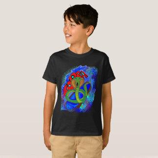T-shirt da cobra camiseta