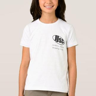 T-shirt da competição das meninas de JJSC Camiseta