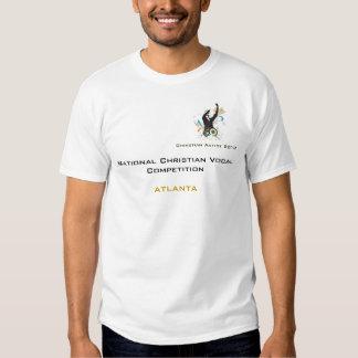 T-shirt da competição de Alanta