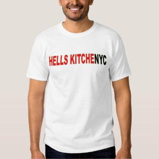T-shirt da cozinha dos infernos da Nova Iorque