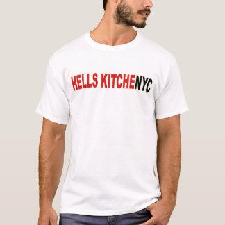 T-shirt da cozinha dos infernos da Nova Iorque Camiseta
