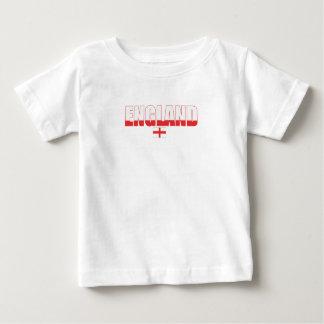 T-shirt da criança da bandeira de Inglaterra