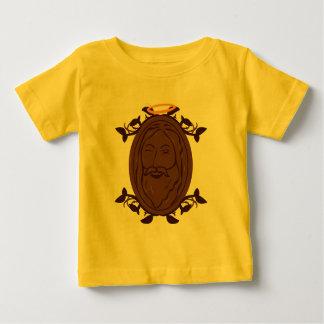 T-shirt da criança de Jesus do chocolate
