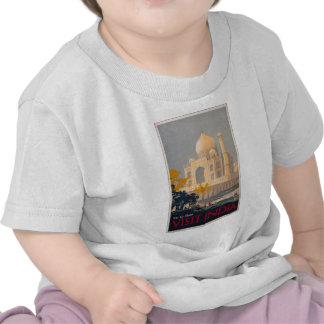T-shirt da criança de Taj Mahal