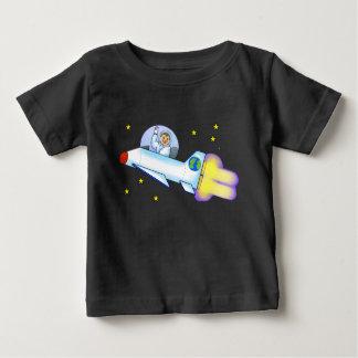 T-shirt da criança do astronauta camiseta para bebê