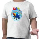 T-shirt da criança do avião de TuTiTu