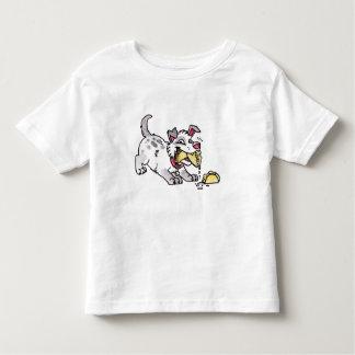 T-shirt da criança do cão do Taco