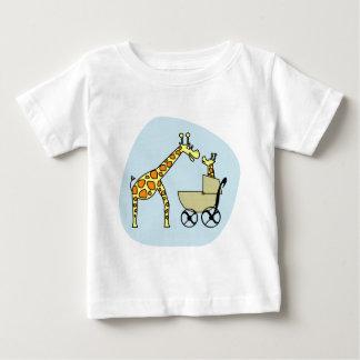 T-shirt da criança do girafa