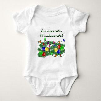 T-shirt da criança do Natal