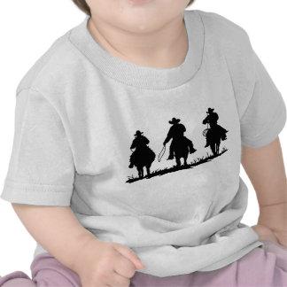 T-shirt da criança do país e dos vaqueiros