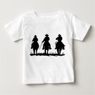 T-shirt da criança do país e dos vaqueiros camiseta para bebê