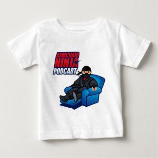 T-shirt da criança do Podcast de Ninja da poltrona Camiseta Para Bebê