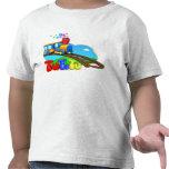 T-shirt da criança do trem de TuTiTu