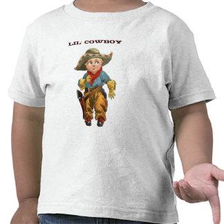 T-shirt da criança do vaqueiro de Lil