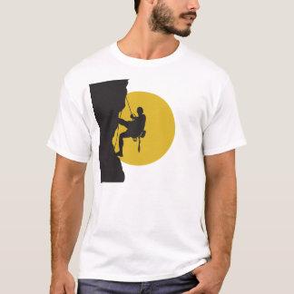 T-shirt da escalada do esporte camiseta