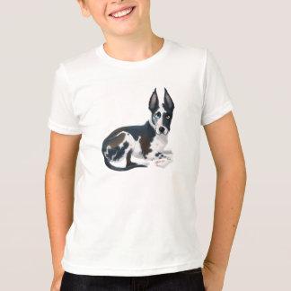T-shirt da escavadora camiseta