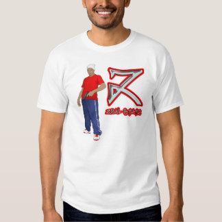 T-shirt da estática do zelo