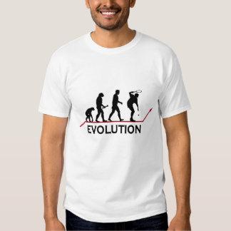 T-shirt da evolução do tênis