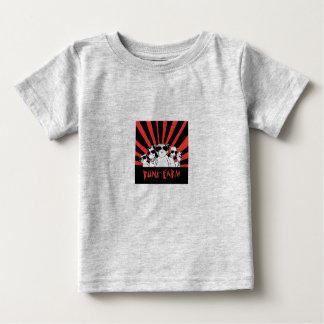 T-shirt da fazenda do punk camiseta para bebê