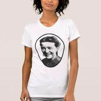 T-shirt da feminista do retrato de Simone de