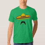 T-shirt da festa de Cinco de Mayo do bigode e do