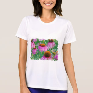 T-shirt da fibra de Coneflowers micro