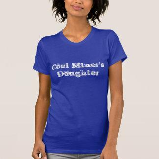 T-shirt da filha de mineiro de carvão camiseta