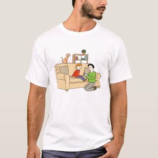 T-shirt da filha do pai camiseta