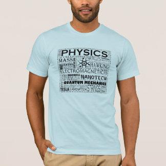 T-shirt da física camiseta