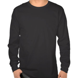 T-shirt da física na obscuridade