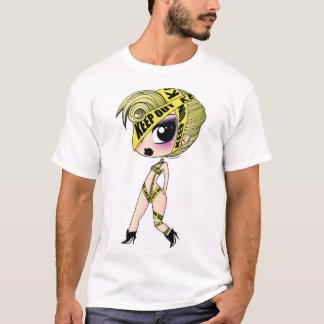 T-shirt da fita do cuidado camiseta