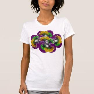 T-shirt da flor do carnaval camiseta