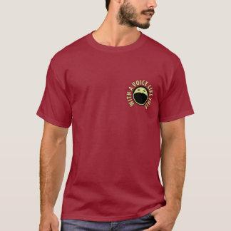 T-shirt da galeria do Podcast (marrom) Camiseta