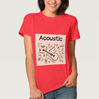 t-shirt da guitarra