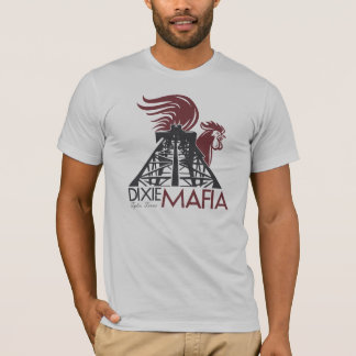 T-shirt da herança de Texas da máfia de Dixie Camiseta